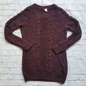 H&M Divided Cable Sweater- size 4